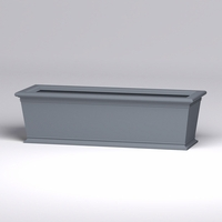 84in.L x 30in.W x 24in.H Prato Rectangular Planter