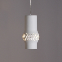 "9.5"" Progressive Cylinder Contemporary Pendant Light"