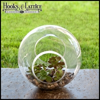 "9"" Crosswinds Terrarium Vase"