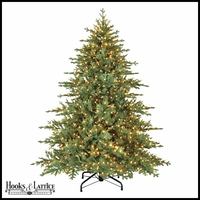 7.5 ft Kennicott Pre-Lit Fir Artificial Christmas Tree w/ Clear Lights