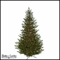 7.5 ft Salem Pre-Lit Pine Artificial Christmas Tree w/ Clear Lights