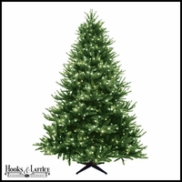 7.5 ft Devonshire Pre-Lit Pine Artificial Christmas Tree w/ Clear Lights