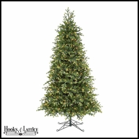 7.5 ft Merryville Pre-Lit Fir Artificial Christmas Tree w/ Clear Lights