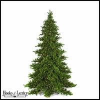 9 Ft Nikko Fir Pre-Lit Fir Artificial Christmas Tree w/ White Lights