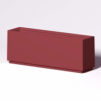 Marek Rectangle Planter 96in.L x 24in.W x 36in.H