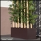 72in.L Jumbo Bamboo Grove in Modern Planter, Indoor