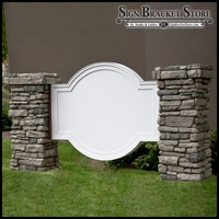 Olympian Monument Sign Blank - 60in. x 42in.