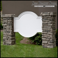 Olympian Monument Sign Blank - 48in. x 38in.