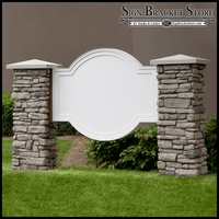 Olympian Monument Sign Blank - 72in. x 60in.
