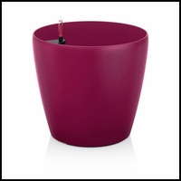 9in. Shatterproof Self-Watering Planter - Purple Garnet