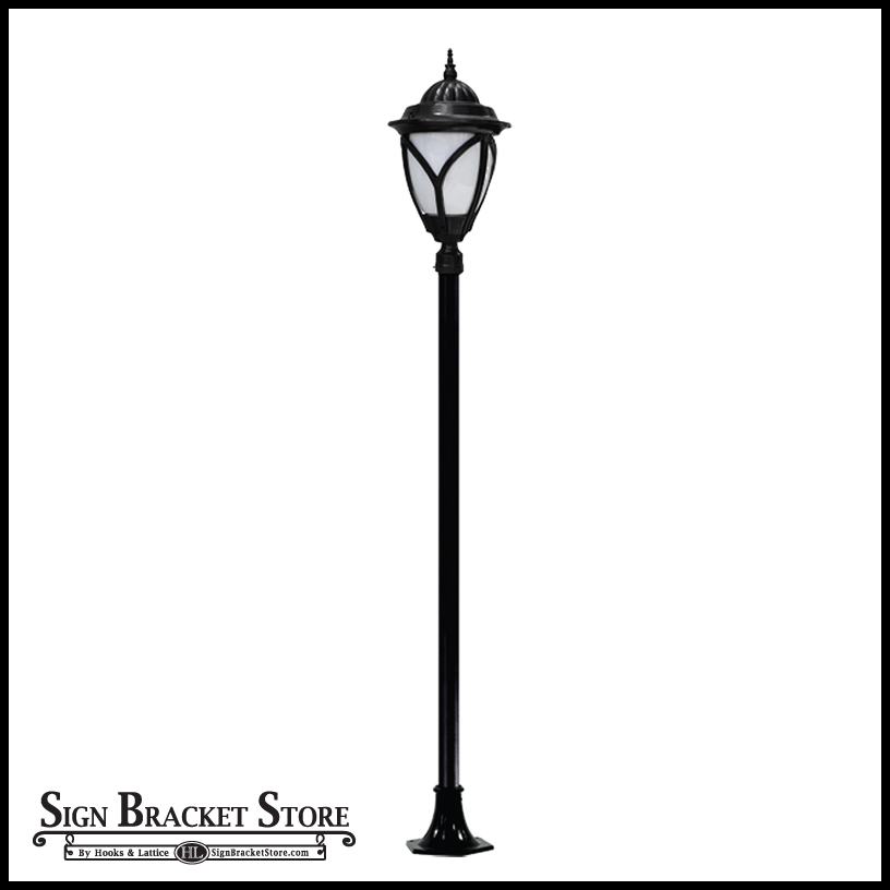 Acorn themed lamp post 120v click to enlarge aloadofball Choice Image