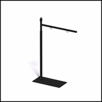 Adjustable Height Straight Arm Hanging Sign Bracket