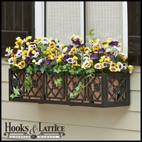 Alexandria Aluminum Window Boxes
