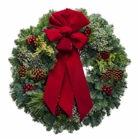 Ambrosial Christmas Wreath