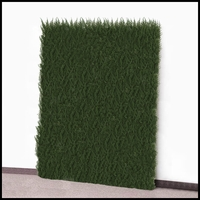Arborvitae Outdoor Artificial Living Wall 96in.L x 72in.H