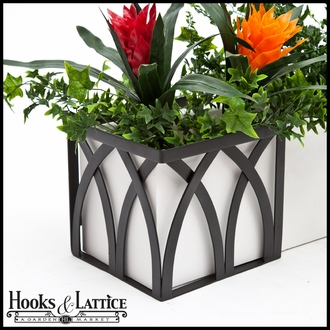 Arch Flower Box Holder - Pair