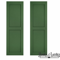 Architectural Raised Panel Fiberglass Shutters