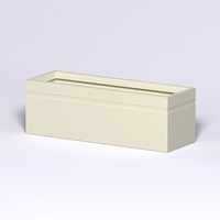 Arroyo Fiberglass Commercial Planter 72in.L x 24in.W x 24in.H