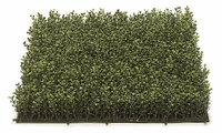 3in.H Plush Boxwood Mat 20in. Tutone Green - Outdoor Polyblend