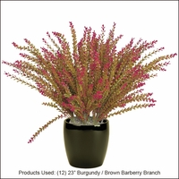 Artificial Barberry- Outdoor Rated