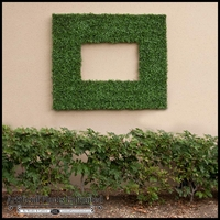 Artificial Boxwood Frames by Artificial Plants Unlimited