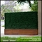 Artificial Boxwood Hedge Planter with Corten Steel Finish