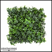12in. X 12in. Artificial English Ivy Mat - Outdoor Rated
