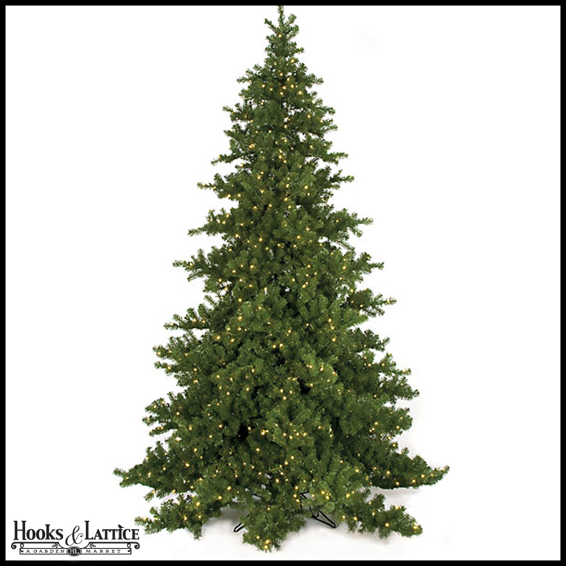 Artificial Fir Christmas Trees, Pre-Lit – Artificial Fraser Fir