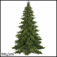 Artificial Fir Christmas Trees - Pre-Lit
