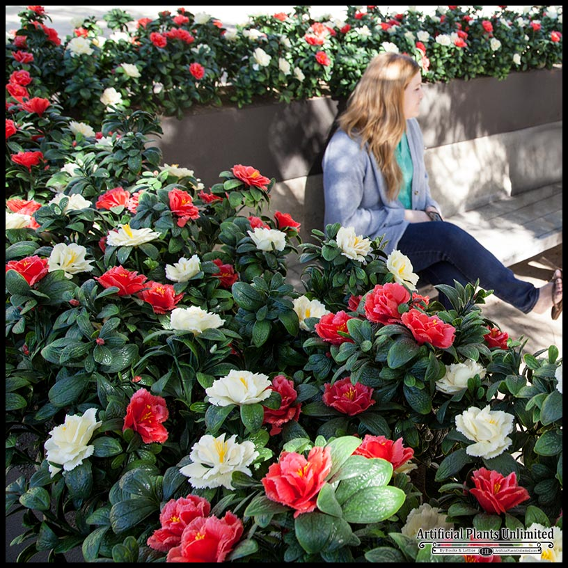 Artificial Flowering Plants - Outdoor Click to enlarge