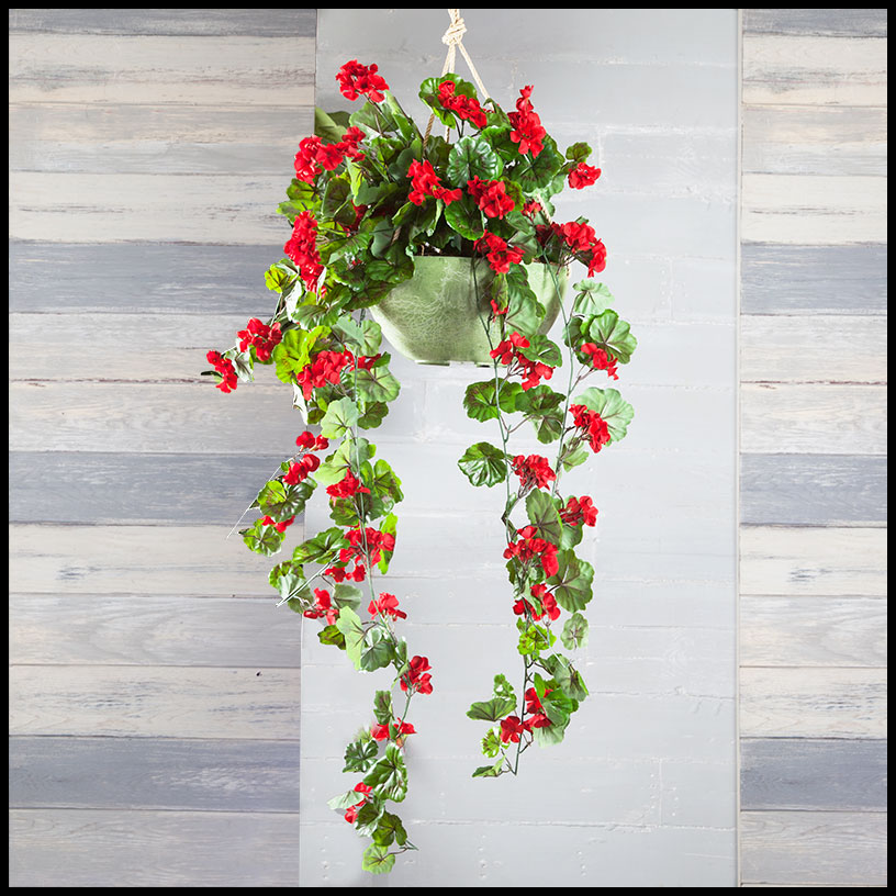 artificial hanging flowers outdoor artificial vines faux