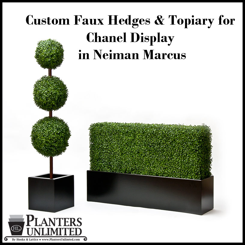 Custom Artificial Hedges For Special Projects Indoor Or