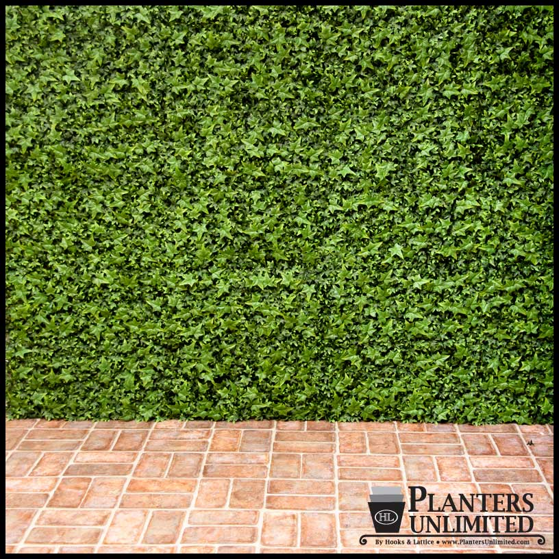 Artificial living wall and privacy screen 48in x 24in for Living wall fence panels