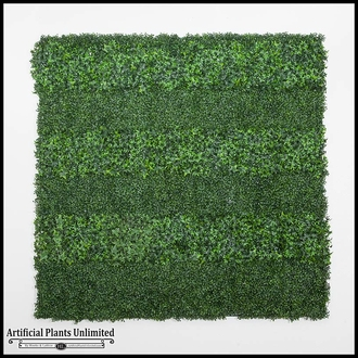 48in x 48in Living Wall with Embeded Custom Logo, Outdoor