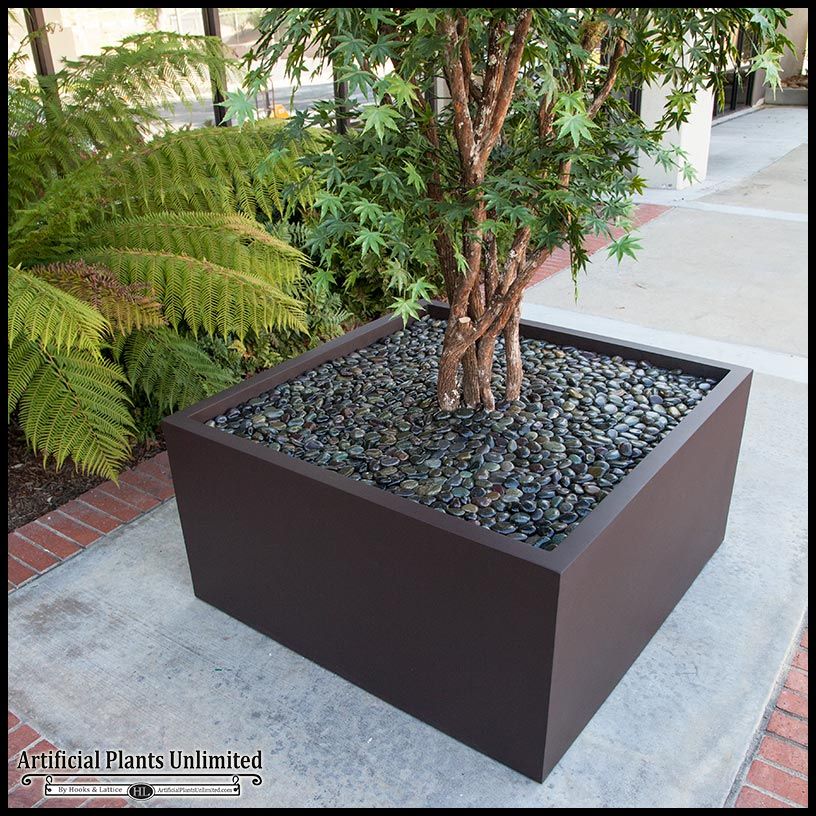 10 39 Artificial Japanese Maple Tree In Modern Fiberglass