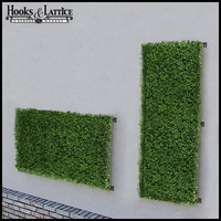 Boxwood Artificial Outdoor Living Wall 48in.L x 24in.H