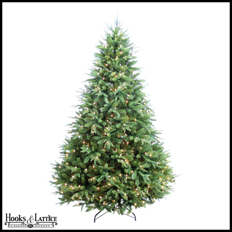 artificial pine christmas trees pre lit click to enlarge - 9 Pre Lit Christmas Tree