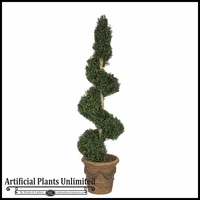 Artificial Spiral & Spear Topiaries - Indoor