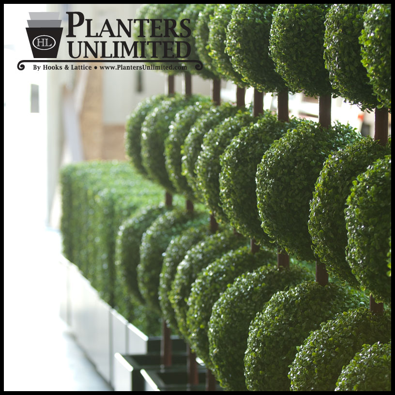 outdoor artificial topiaries, fake topiaries topiary plants Artificial Shrubs and Plants