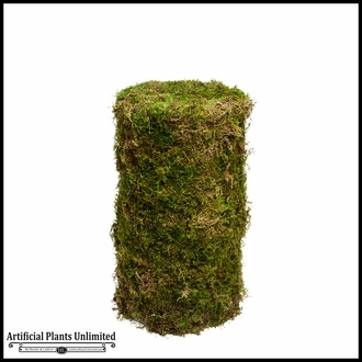 6'H Real Moss Topiary Pillar/Cylinder