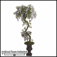 5' Wisteria Flower Topiary, Indoor