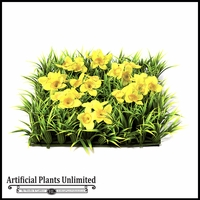 10in. X 10in. Yellow Daffodils Flower Mat - Indoor