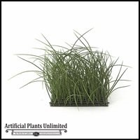 14in.H Tall Grass Mat 10in. Green - Indoor