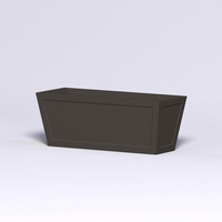 Ashville Tapered Rectangular Planter 48in.L x 18in.W x 18in.H