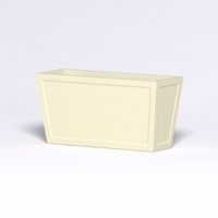 Ashville Tapered Rectangular Planter 48in.L x 18in.W x 24in.H