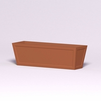 Ashville Tapered Rectangular Planter 60in.L x 18in.W x 18in.H