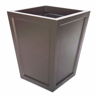 Ashville Tapered Square Planter 18in.L x 18in.W x 18in.H