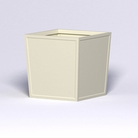 Ashville Tapered Square Planter 48in.L x 48in.W x 48in.H