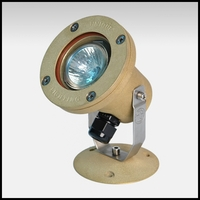 Atlantis 16 Low Voltage Submersible Light - Natural Brass