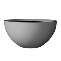 Avalon Bowl Cast Stone Planter 50in.D x 17in.H